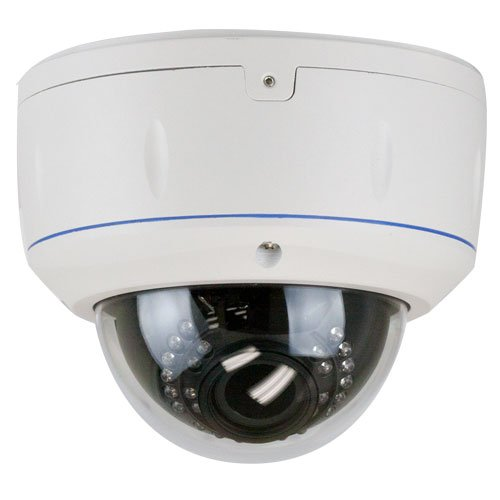 650 TVL ZOOM Vari-focal 2,8~12mm Security Camera for Indoor & Outdoor Color Home Security Surveillance Dome Camera with Free Power Supply