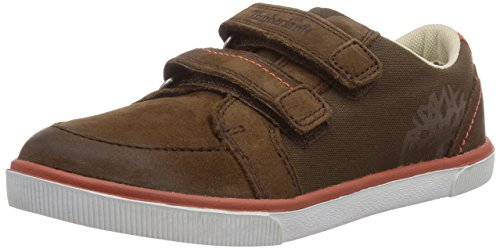Timberland Slim Cupsole Ftk_ek F/l H&l Ox - Zapatillas de deporte Unisex bebé marrón - marrón