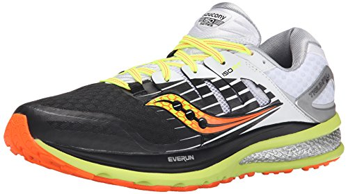 2 Men's Black Citron ISO White Running Triumph Saucony Shoe qZUwgvv