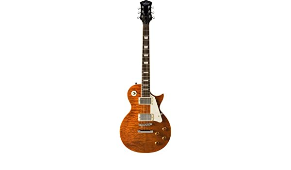Oscar Schmidt OE20QTE - Guitarra eléctrica de 6 cuerdas, ojo de tigre: Amazon.es: Instrumentos musicales