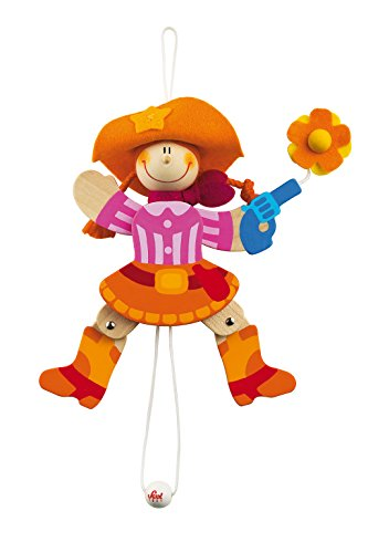 (SEVI 1831 - Jumping Jacks - Cowgirl Puppet - centimeters14 (code 81997))