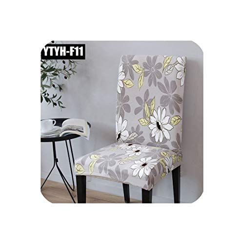 Chair Covers Spandex with Backrest Slipcovers for Dining Party Chair Ascent Capa para Cadeira Externa,YTYH-F11,one Size fit All