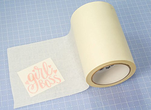 631 and Cricut Vinyl 12in Medium Tack Adhesive Application Tape Works Great with Oracal 651 Expressions Vinyl x 100ft Perfect Transfer Tape for Vinyl Opaque//Transparent Transfer Tape Roll