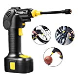 Cheap Air Compressor Pump,Portable Air Pump,Cordless Electric Tire Inflator Hand Held Pump with Li-ion Battery 12V 150PSI,Built in LED Light