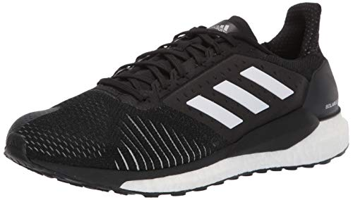 adidas Men's Solar Glide, Black/White/Grey, 11 M US