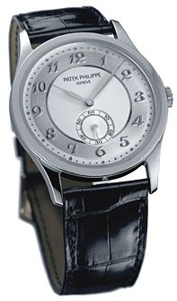 Patek Philippe Calatrava Platinum Mens Watch 5196P