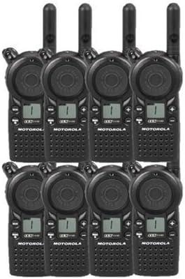 8 Pack of Motorola CLS1110 Two Way Radio Walkie Talkies UHF