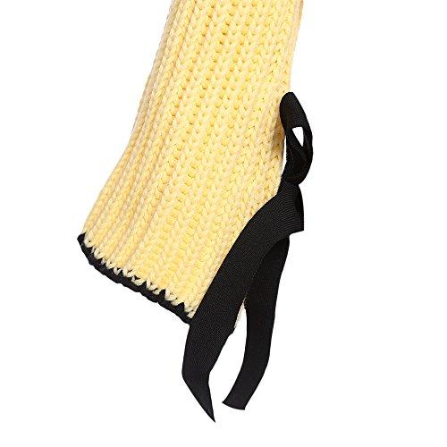 DressLily - Jersey - Cuello redondo - Manga Larga - para mujer amarillo