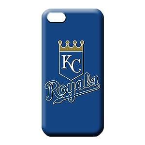 iphone 5 5s Shock Absorbing PC skin mobile phone cases baseball kansas city royals