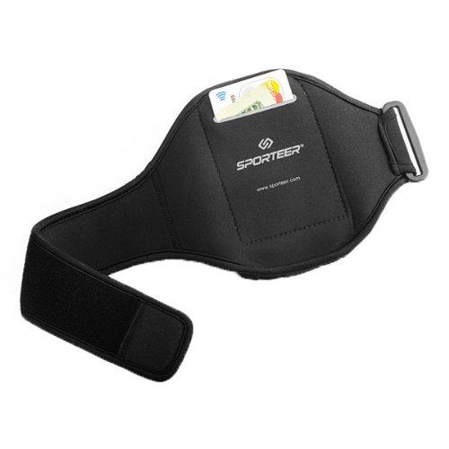 Sporteer V1xl Sport Armband for Samsung Galaxy S5 - M/L (Black)