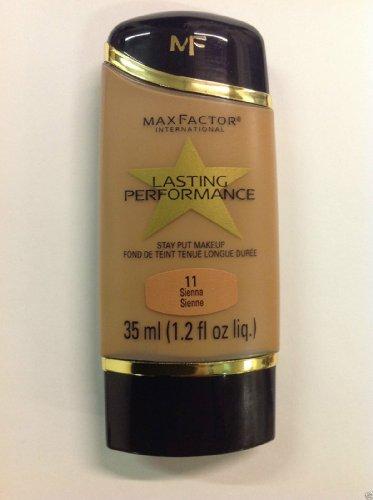 Max Factor Lasting Performance Stay Put Makeup Sienna #11 ( 1.2 Oz // 35 Ml ).