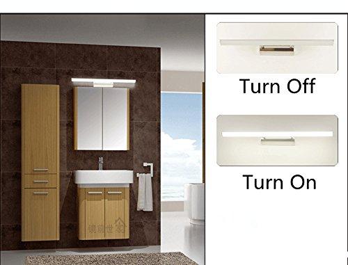 Bathroom Mirror Cabinet W Led Lights Adjustable Shelves: ZHMA LED Mirror Lights, 6W Bathroom Cabinet Wall Light