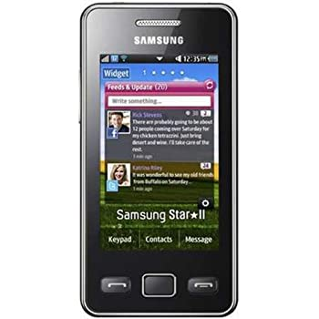 amazon com samsung s5260 star ii black wifi unlocked gsm quadband rh amazon com Samsung Rugby Samsung Owner's Manual