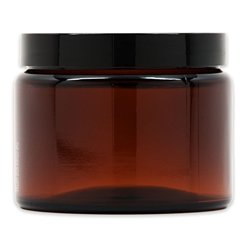 - X-Large Amber Glass Storage Jar with Air-Tight Lid