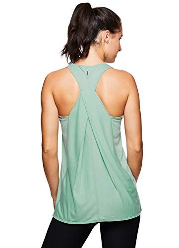 RBX Active Women's Yoga Workout Tank Top Light Green S19 XL