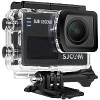 SJCAM SJ6 LEGEND 4K Wifi Action Camera Sports Video Camera Gyro Stabilization 2.0 Inch Touch Screen 4K 24FPS Novatek NT96660 Panasonic MN34120PA 16MP Underwater Waterproof Digital Camera Black