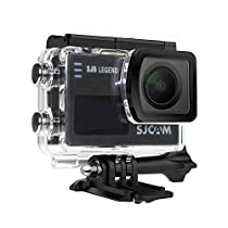 SJCAM SJ6 LEGEND Leggenda 4K Wifi Macchina Fotografica di Azione Videocamera Sportiva Gyro Stabilization 2.0 Inch Touch Screen 4K 24FPS Novatek NT96660 Panasonic MN34120PA 16MP Underwater Waterproof Digital Camera Black
