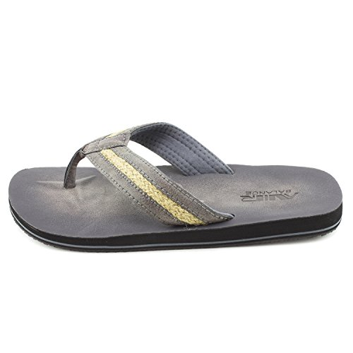 Flip Mens Adults Non Platform Comfy Wide Black Flop Thong Air Sandals Balance Slip Lightweight TZa5wxAznq