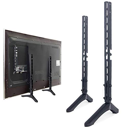 (Universal TV Stand Base Replacement Table top Pedestal Mount Fits 26