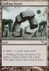 Magic: the Gathering - Stalking Stones - Mirrodin - (Stalking Stones)