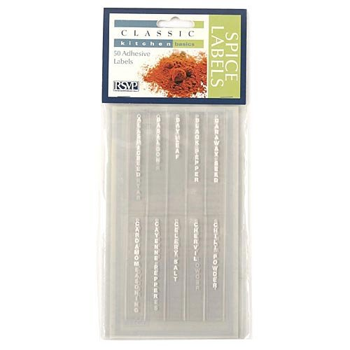 Vertical Spice Labels