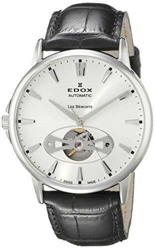 Edox-Mens-85021-3-AIN-Les-Bemonts-Analog-Display-Swiss-Automatic-Black-Watch