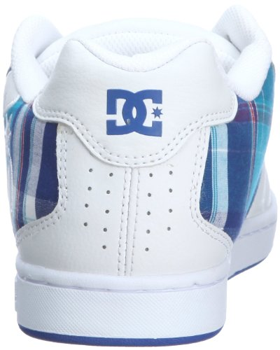 Skate Shoe DC Net Blue White SE Men's wtztO