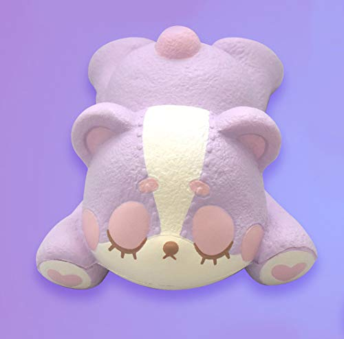 ibloom Slow Rising [Squishy Collection] Harajuku Bear Squishy Kids Cute Adorable Doll Stress Relief Toy Decorative Props [Mao]