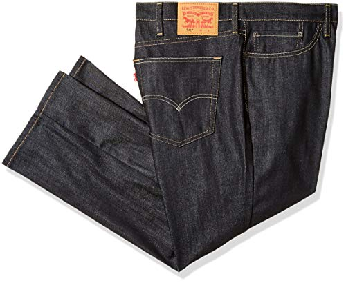 Levi's Men's Big and Tall 541 Big & Tall Athletic Straight Fit Jean, Rigid Dragon - Stretch, 66W X 28L