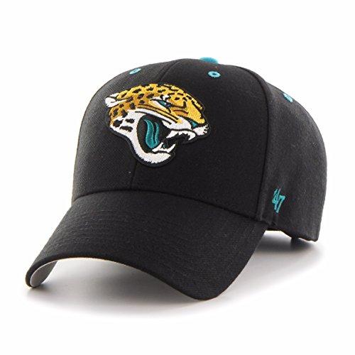 ('47 NFL Jacksonville Jaguars MVP Adjustable Hat, One Size, Black)