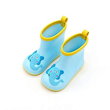 c99db965e4822 Vine Toddler Rain Boots Babys Rain Boots Children Waterproof Shoes for Boys  Girls 5.5 US Toddler