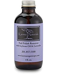Karma Organic beauty natural Soybean Lavender Nail Polish...