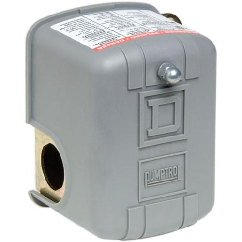 Square D by Schneider Electric FSG2J24M4CP 40-60 PSI Pumptrol Water Pressure Switch with Low Pressure Cut-Off (Switch Pressure Electric)