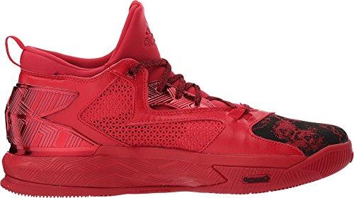 Athletic Lillard Black 2 adidas Men's Scarlet D Shoe Scarlet qwFU6vf