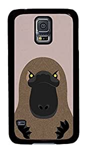 Customized Samsung Galaxy S5 Black Edge PC Phone Cases - Personalized Platypus Cover