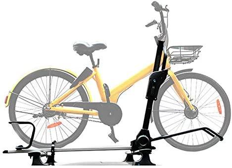 XINGXINGNS Portabicicletas de Techo Soporte para Bicicletas Capacidad para 1 Bicicletas, Aluminio Fijo Universal del automóvil Car Top Bike Rack, para SUV Coche: Amazon.es: Deportes y aire libre