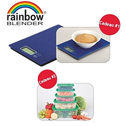 RAINBOW Blender – Licuadora Saltador: Amazon.es