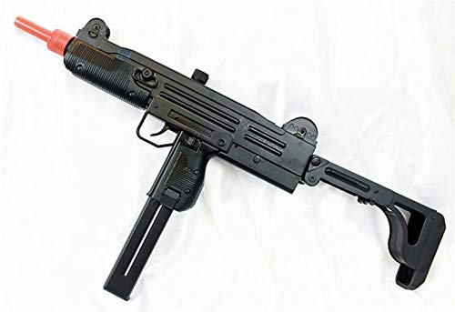 (AirSoft D91 Uzi SMG AEG Full Auto Electric AEG Sub Machine Gun)
