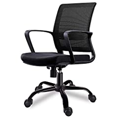 The Biggest mid back mesh chair you can find at this pricelevel.from Smugdesk, an exciting growth story in ergonomic furniture experience health and comfort with our advanced technology millions of happy users and counting ergonmic backrestth...
