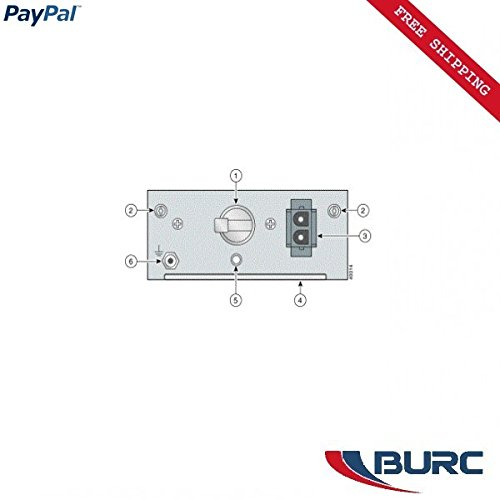 CISCO 6015-1-PEM-DC - CISCO 800-06329-03 6015-1-PEM-DC C6015 PWR ENTRY MODULE VAPUGG0F