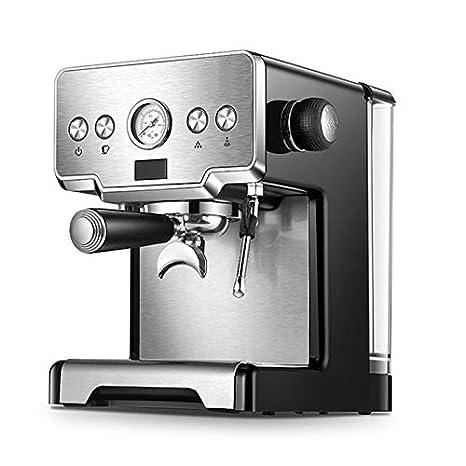 QAIYXM Cafetera, Máquina Máquina de café de Acero Inoxidable ...