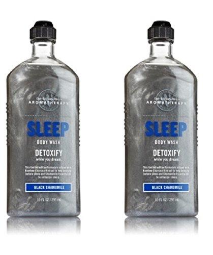 Bath & Body Works Aromatherapy Sleep Body Wash & Foam Bath in Black Chamomile (2 Pack) Review