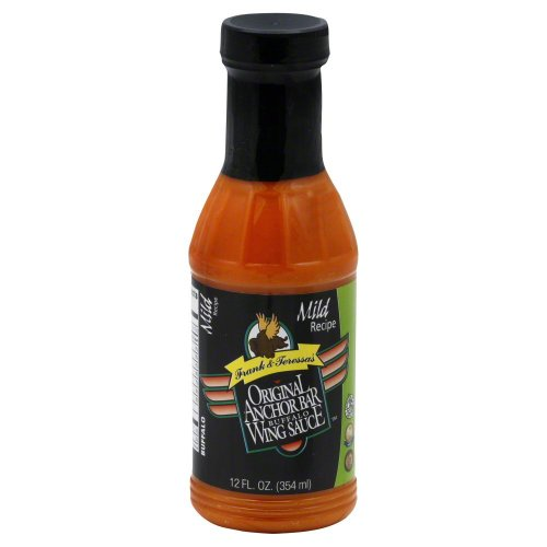 Anchor Bar Mild Wing Sauce 12 oz (Anchor Bar Buffalo Chicken Wing)