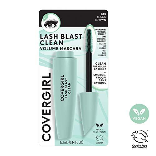 Covergirl Lash Blast Clean Volume Mascara, Black Brown, Pack of 1 3