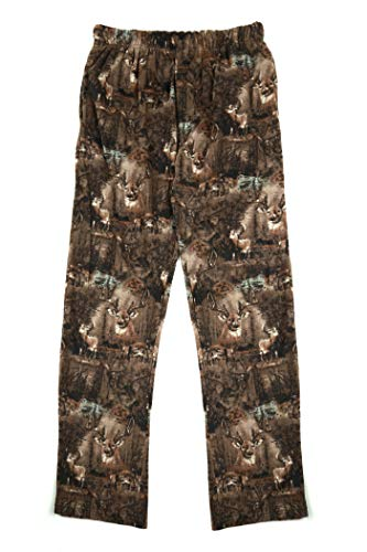 - North 15 Boy's Cozy Camouflage Micro Fleece Lounge Pants-1231B-Print7-8