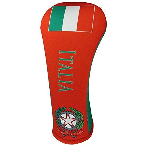 イタリアフラグThymeゴルフクラブヘッドカバー3サイズありdrive-fairway-hybrid Made in USA by BeeJos B018ZR0TSW Fairway