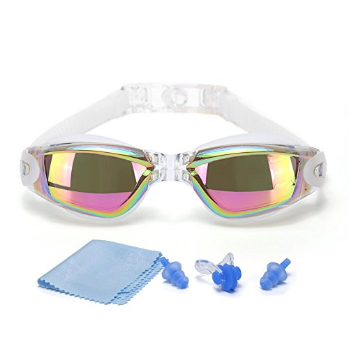 SWIM GOGGLES]Swimming Goggles for Adult Men Women Youth Kids Child,Swim Goggles with 100% UV Protection,Anti Fog Technology Ultra - Who Lenses The Makes Best Polarized