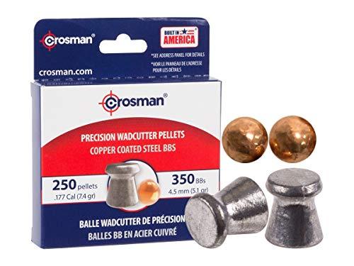 (Crosman Dual Ammo BB 350 ct/Wadcutter Pellet 250 ct)
