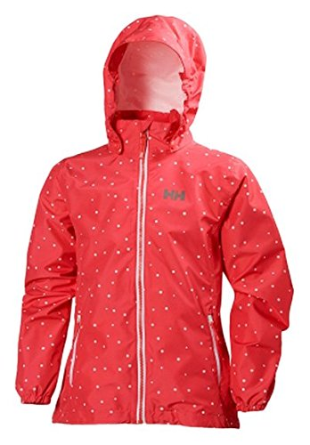 Helly Hansen Girl's Junior Freya Rain Jacket B06XGYLWFQ-p