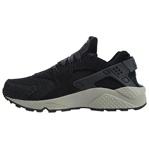 Nike Kvinders Huarache Køre Se Løbesko Sort / Mørkegrå-brosten AVEaL3daIz